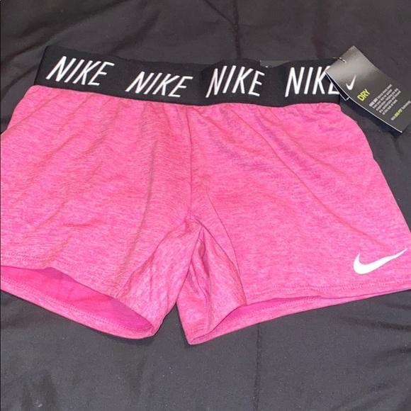 Big Girls Medium Pink Dryfit Shorts New